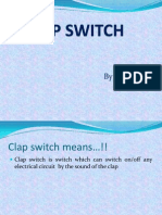 CLAP SWITCH INVESTIGATORY PROJECT