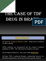 Tdf Patent Case