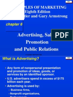 Advertising, Sales, Promotionand Public Relations