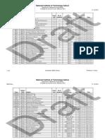 2014_Monsoon End Exam Timetable DRAFT