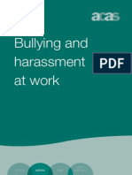 Bullying and Harassment at Work a Guide for Employees