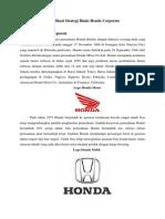 manajemen bisnis HONDA