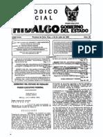 DECRETO_238_LEY_ORGANICA_DE_LA COMISIÓN_DE_DERECHOS_HUMANOS_DEL_ESTADO_DE_HIDALGO_(P.O. 20-07-1992)