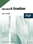 Network ScanGear User Guide