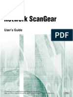 Network ScanGear User Guide