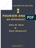 Stein - Fourier Analysis