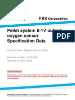 Pellet System Oxygen Sensor OSx-1 Data-sheet