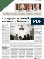 20141204 Crónica de La Vanguardia sobre la conferencia en BARCELONA TRIBUNA de Núria Marín, alcaldesa de L'Hospitalet