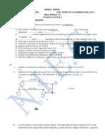 Model Paper Ps-1saquib