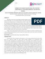 1. Humanities-An Evaluation of Pregnant Womens Knowledge and Attitude-Dr. Kola M. Owonikoko