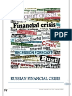 Report on Russian Financial Crisis 1998 by Kamran Shabbir