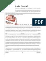 What is Brain Drain