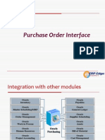 Purchase Order Interface