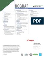 Canon IPFMF40 Brochure