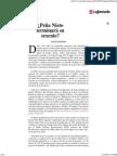 Terminara EPN Su Sexenio - John M. Ackerman