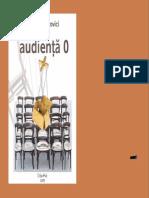 Teodorovici, Lucian Dan - Audienta 0