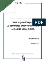 Vers le grand large ? Le commerce extérieur allemand entre l'UE et les BRICS