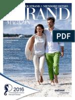 Gastgeberverzeichnis Timmendorfer Strand 2016