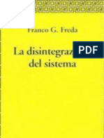 Disintegr Sistema FFreda