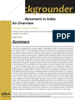 Maoist Movement in India