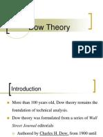 Dow Theory.