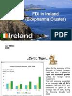 FDI in Ireland (Biopharma Cluster) Igor Miškić