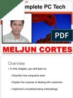 MELJUN CORTES Computer Organization Lecture Chapter24 Complete PC Tech