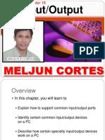 MELJUN CORTES Computer Organization Lecture Chapter16 Input Ouput