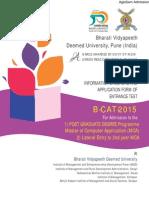 BVP B-CAT 2015 Information Brochure