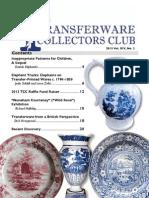 Transferware Collectors Club Bulletin One 2013