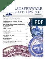 Transferware Collectors Club Bulletin One 2012