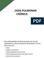 PATOLOGÍAS PULMONARES CRÓNICAS