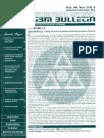 BIBM Bulletin Vol 17 Nos 4 And5