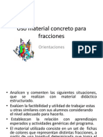 4.-Uso Material Concreto Para Fracciones