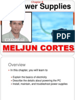 MELJUN CORTES Computer Organization Lecture Chapter8 Power Supplies