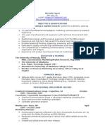 Marketing Web Resume