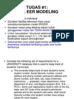 Tugas #1 ER Dan EER Modeling