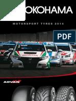 YOKOHAMA Motorsport Tires Catalogue 2014