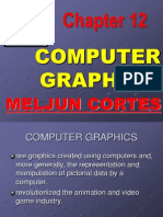 MELJUN CORTES Multimedia Lecture Chapter12 Computer GRAPHICS