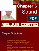 MELJUN CORTES Multimedia Lecture Chapter6 Sound