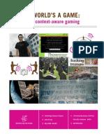 Context Aware Gaming