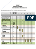Plan de Trabajo Actualizacion de Instrumentos de Gestion