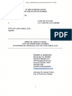 Supporting brief filed by an attorney from the city of North Port
