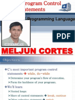 MELJUN CORTES C++ Chap3 Control Statements