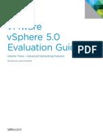 VMware VSphere Evaluation Guide 3 Advanced Networking
