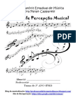 Apostila de percepção musical