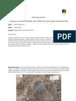 Informe Terreno Geología Ambiental/Matriz de Leopold
