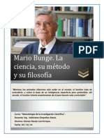 Mario Bunge Trabajo