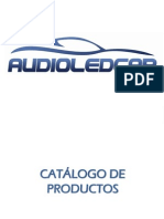 Catalogo de subaru