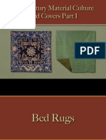 Bedding - Bed Coverings Part I